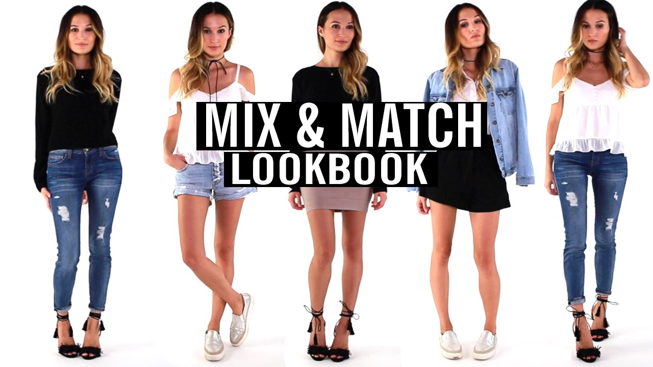 Mix And Match Mix Match Lookbook Current Favorite Outfits Ttsandra