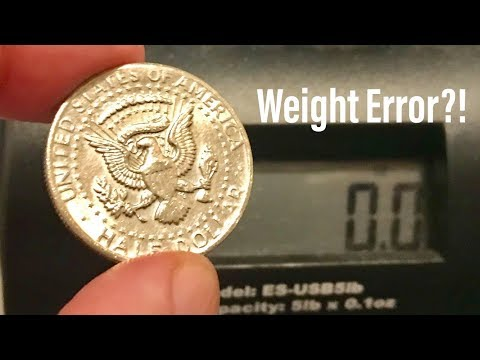 Wrong Planchet Error? Rolled Thin Error? Light Weight Half Dollar