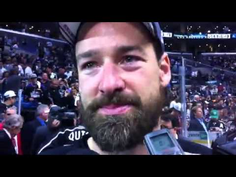 VIDEO: An emotional Justin Williams after winning the #StanleyCup and the Conn Smythe as MVP of play