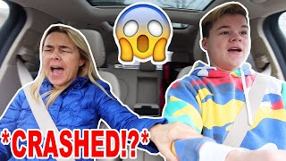 MY MOM TEACHES ME HOW TO DRIVE! *BAD IDEA*