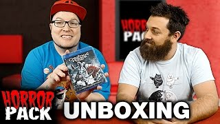 Horror Pack December 2016 Unboxing! - Horror Movie Subscription Box