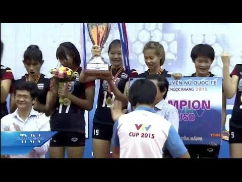 วอลเลย์บอลหญิง ไทย U23 คว้าแชมป์ VTV Cup 2015