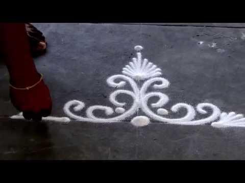 Rangoli : Makar Sankranti Special Pongal kolam Ugadi Rangoli