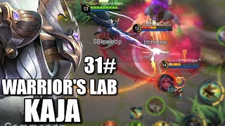 WARRIORS LAB #31 KAJA'S SUPPORTING ABILITY AND GEAR TEST