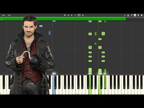 """Revenge Is Gonna Be Mine"" - Once Upon A Time [Piano Tutorial] (Synthesia)"