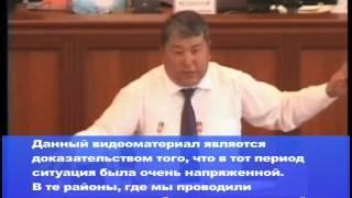 Мелис Мырзакматов: По велению Всевышнего мне выпала доля бороться с сепаратистами