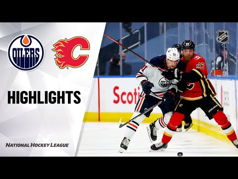 NHL Exhibition Highlights | Oilers @ Flames, 07/28/2020