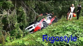 Rallye du Mont Blanc 2018 Jour 1 crash, On The Limit By Rigostyle
