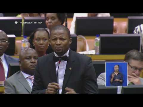 UDM MP Kwankwa tells parliament the truth SONA 2017