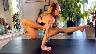 Extreme Yoga Asanas With Penelope! Yoga for Flexibility and Strength
