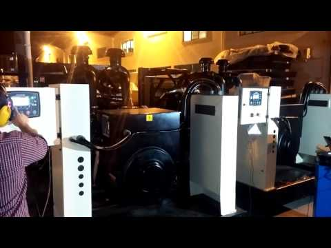 2x550 kVA Sdec Generator Synchronous and Load Test
