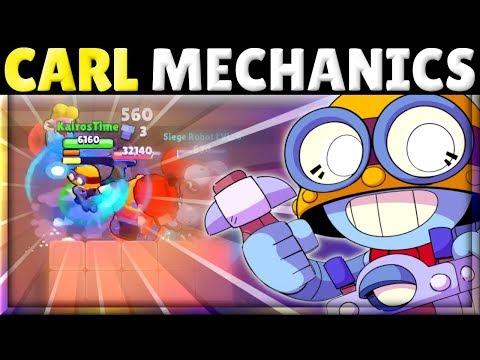 How to Use Carl! | Tech & Mechanics! | HIGHEST DPS in Brawl Stars?! | Long-Ranged TANK?!