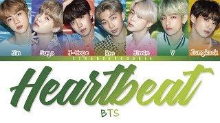 Download lagu BTS (방탄소년단) - Heartbeat Easy Lyrics [Color Coded]