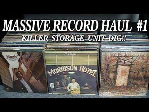 Massive Storage Unit Dig Record Haul #1