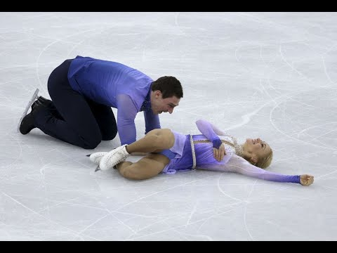 See the Moment the Highest-Scoring Figure Skating Pair of All Time Collapsed in Happiness