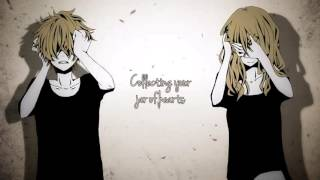 【Nightcore】→ Jar Of Hearts ( Switching Vocals) || Lyrics