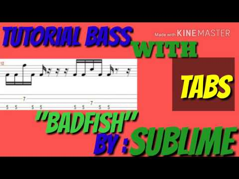 TUTORIAL BASS WITH TABS,