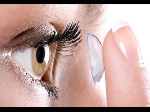 56fcf2a7c ♡ Como colocar e retirar lentes de contato - YouTube