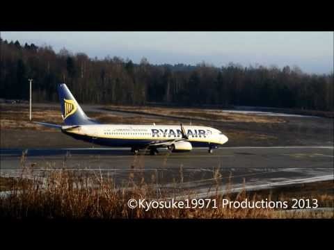 (TRF) Planespotting on Sandefjord Airport Torp (23.11.2013)