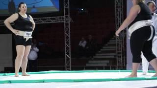 WU - +95kg - Semi-Final - Zhigalova Anna (RUS) (Gold Medal) vs Krzemieñ Sylwia (HUN)