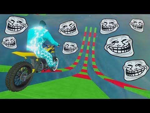 CARRERA TROLL NAVIDEÑA! - CARRERA GTA V ONLINE - GTA 5 ONLINE