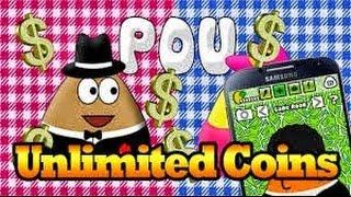 Download Pou Uang 999999 Mod
