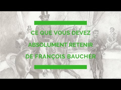 Ce que vous devez absolument retenir de François BAUCHER