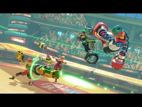 ARMS | News Update: 8 Player Mode, New Alts, And More