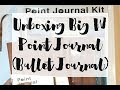 Unboxing Big W Point Journal - Bullet Journal