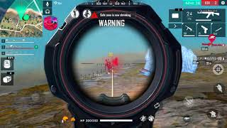400K SUBS SPECIAL THANKS & AWM SNIPING PRACTICE IN FREE FIRE LIVE
