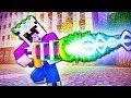 Самая МОЩНАЯ Пушка в Майнкрафт! Супер Герои НУБ и ПРО против Злодея в Minecraft   ВЛАДУС
