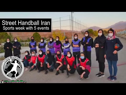 Street Handball Iran 5 events on the occasion of sports week in iran.