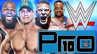 DIE 10 STÄRKSTEN WWE WRESTLER (2016) - Pro10 #38 (Deutsch/German)