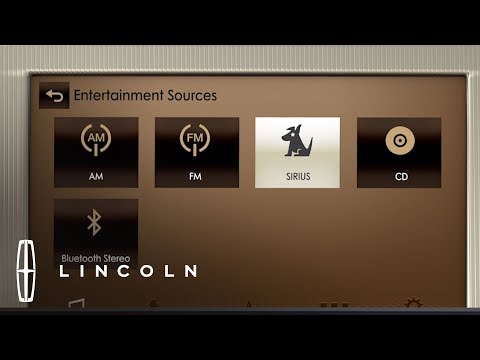 Using SiriusXM® Satellite Radio with SYNC® 3 | How-To | Lincoln