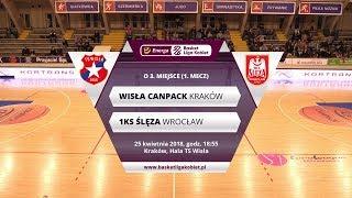 Wisła.TV | O 3. miejsce, mecz 1: Wisła CanPack Kraków - 1KS Ślęza Wrocław [Na Żywo]