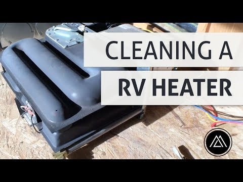 Cleaning our RV Heater