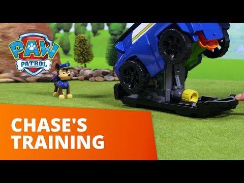 PAW Patrol | Chase's Training | Toy Episode