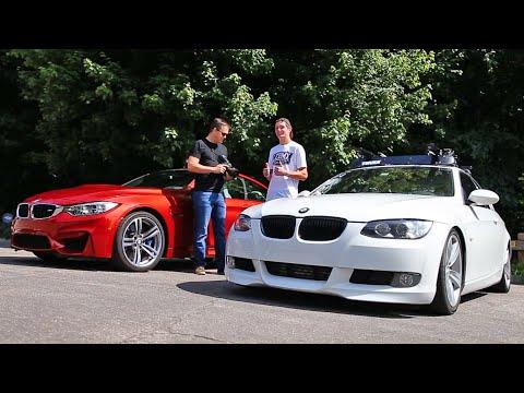 Stock BMW M4 vs tuned BMW 335i