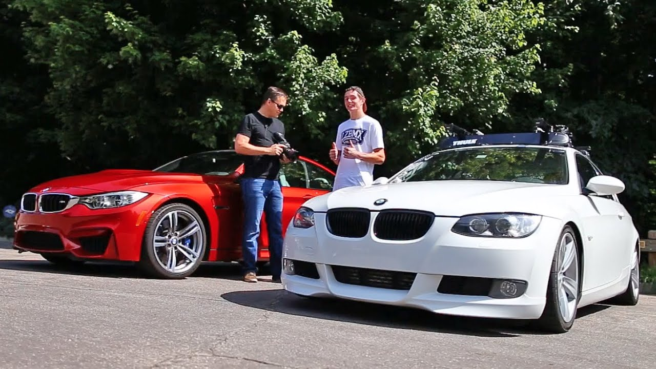 stock bmw m4 vs tuned bmw 335i youtube. Black Bedroom Furniture Sets. Home Design Ideas