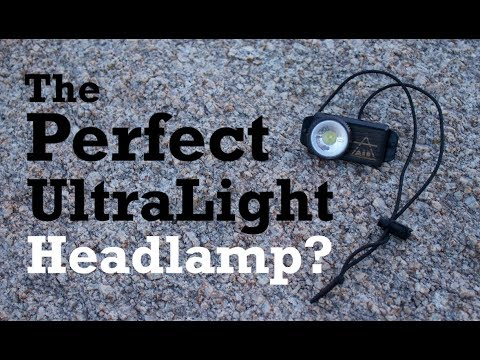 The Perfect UL Headlamp? - UCO Air 150 Review + MOD!