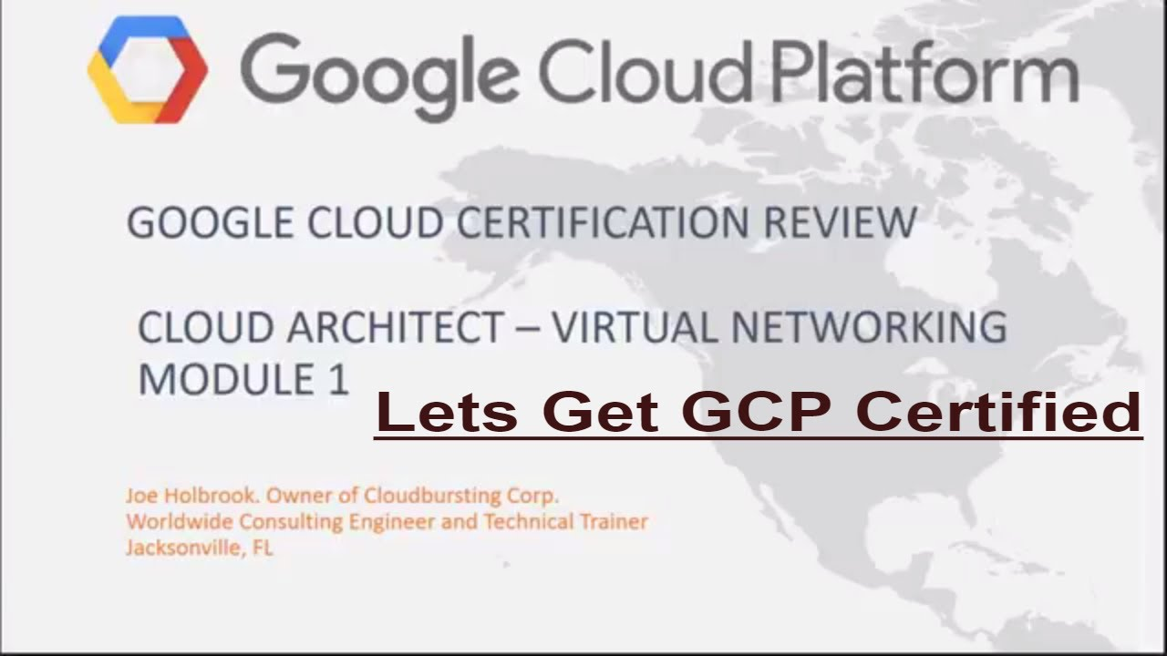 Google Cloud Platform Cloud Architect Certification Review Questions