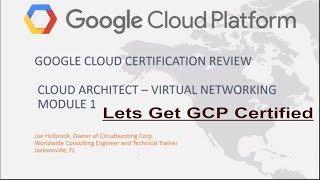 Google Cloud Platform Cloud Architect Certification Review Questions Virtual Networking