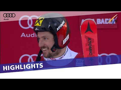 Marcel Hirscher in a class of his own in Giant Slalom at Alta Badia | Highlights