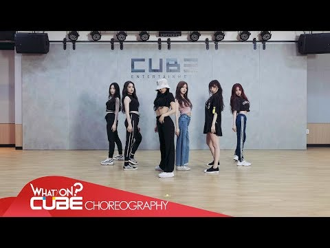 (여자)아이들((G)I-DLE) - '한(一)(HANN(Alone))' (Video Latihan Koreografi)