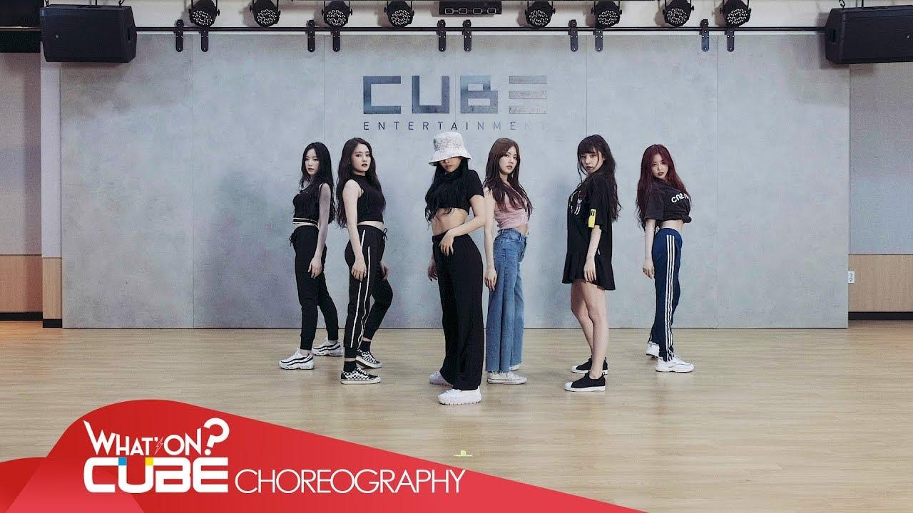 여자 아이들 G I Dle 한 一 Hann Alone Choreography Practice