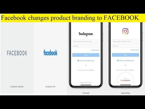 Image result for Facebook changes product branding to FACEBOOK
