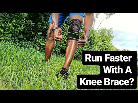 Run Faster With A Knee Compression Sleeve Brace | Runners Knee