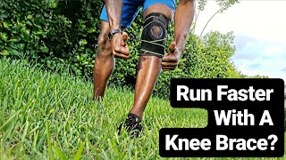 Run Faster With A Knee Brace   Runners Knee