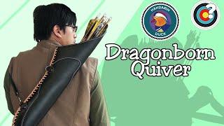 Archery | Mandarin Duck Dragonborn Quiver & Ranger Accessories