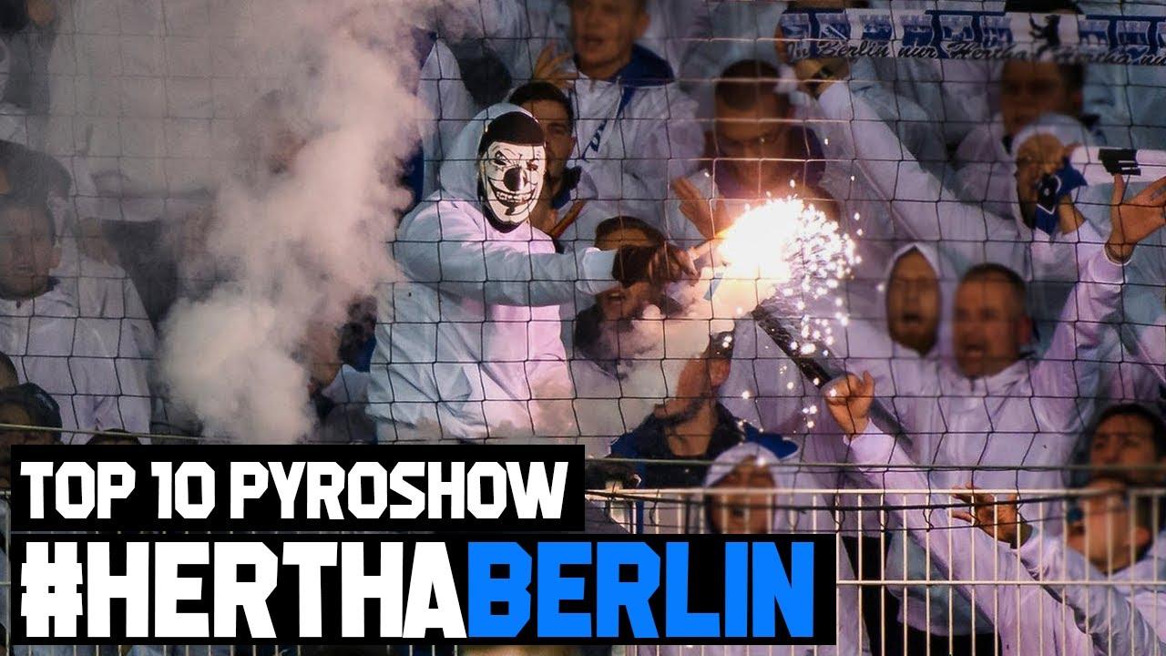 TOP 10 PYROSHOW | HERTHA BERLIN ULTRAS #EP5